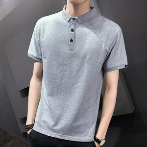 New men's trendy short-sleeved t-shirt M